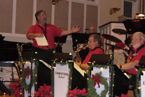 Unforgettable performs Big Band Christmas at Zion UMC