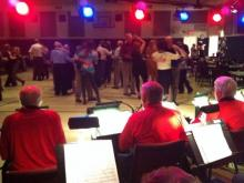 Unforgettable Big Band performs at the Lake Meade Community Center.
